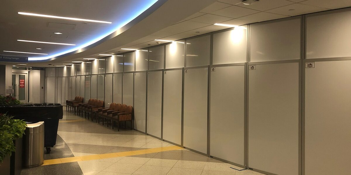 STARC temporary walls