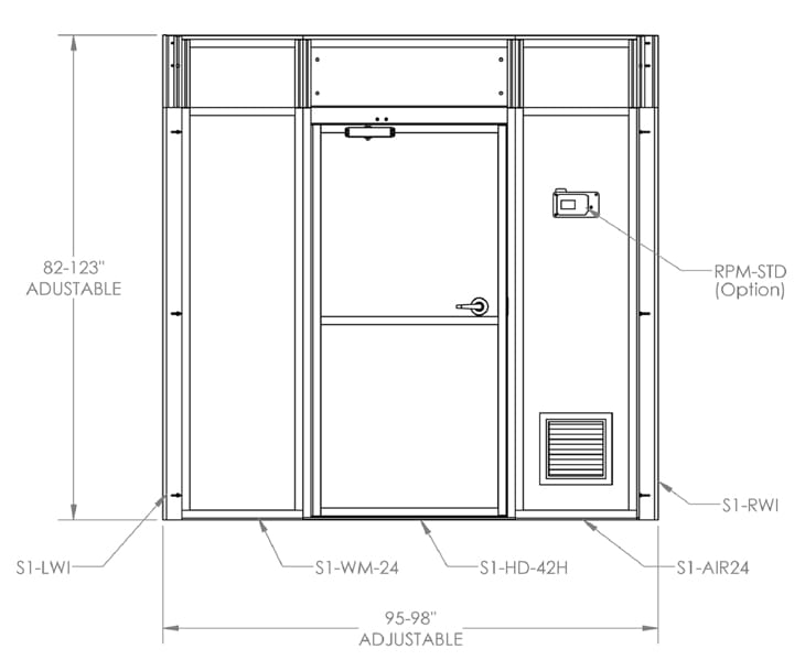 Creating an 8' Corridor ICRA Barrier Kit
