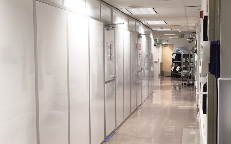 Cleveland Clinic Hallway