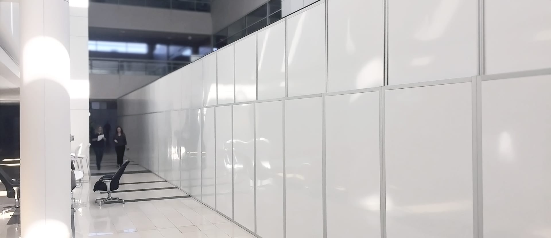 RealWall panels in commercial setting